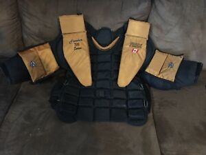 Chest and Arm Goalie Pads- Senior Large