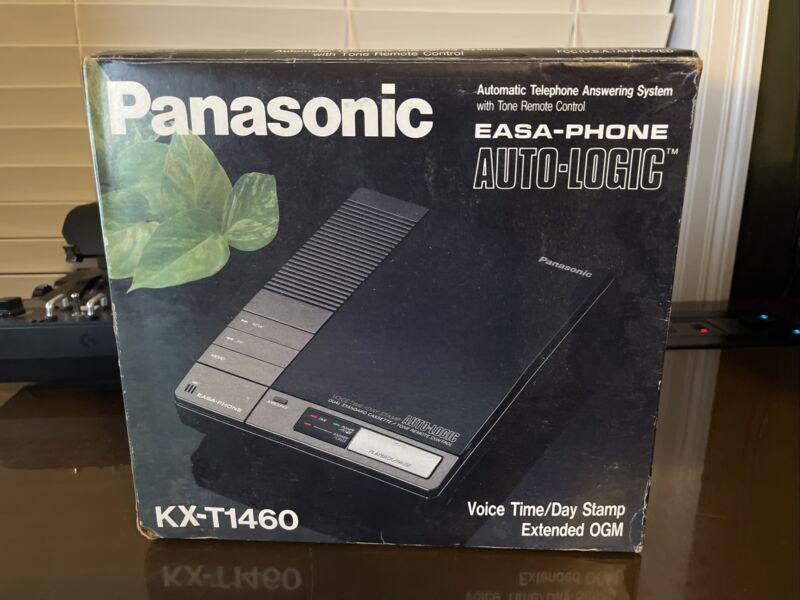 Panasonic KX-T1460 - Easa-Phone Auto Logic Answering Machine - W/ Box