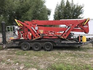2011 78ft cmc spider lift for sale