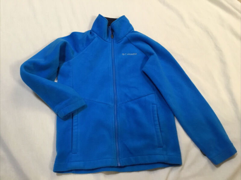 Columbia Youth Size 10/12 Medium Interchange Blue Polyester