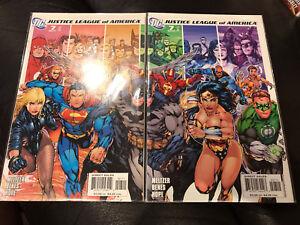 DC COMICS JSA #7 connecting covers