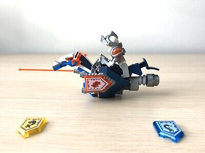LEGO Nexo Knights Lance MiniFigure & Hover Horse. Sold As Seen In Pictures