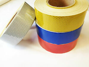 High Quality High Intensity Reflective Tape /  Vinyl Roll 25MM 50MM 1M 2M 5M 10M
