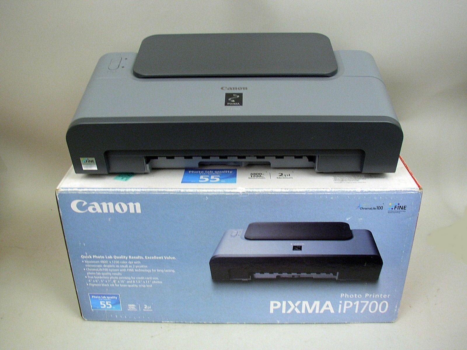 Canon Ip1700 Printer Pg 40 Bekas Pixma Ip Photo Inkjet Ebay 1600x1200