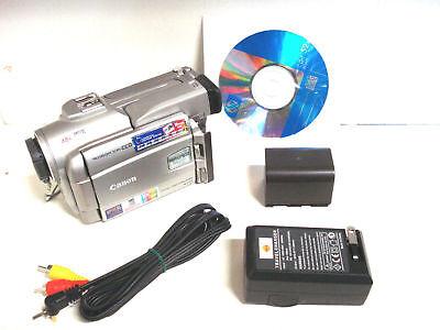 Canon Optura Pi MiniDv camcorder w/ Progressive Scan CCD Progressive-scan-ccd