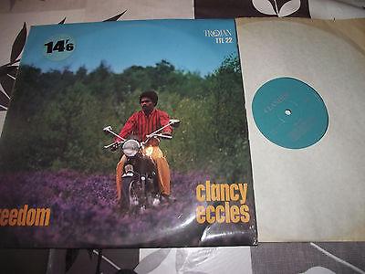 MINT UNPLAYED CLANCY ECCLES FREEDOM 1969 REGGAE ROCKSTEADY CLANDISC TTL 22 LP