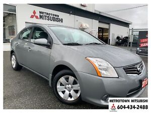 2010 Nissan Sentra 2.0; Local BC vehicle! Only 20,247 KMS!