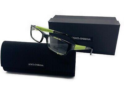 DOLCE GABBANA D&G 1181 977 Eyeglasses Frames Glasses Black Green Multi (Dolce Gabbana Prescription Glasses)