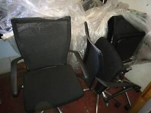 BLACK Brand-new office chairs for a quick and cheap sale: $80 EA