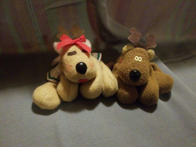 Vintage Rodney And Ronda Reindeer Set please Read Description below thanks 🙂