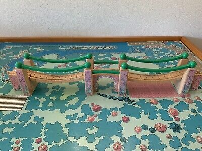 Thomas & Friends 90s Learning Curve Wooden Train Track Railroad Bridge