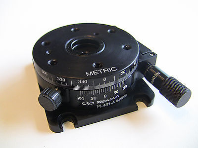Newport M-481-a Precision Rotation Stage With Micrometer Metric