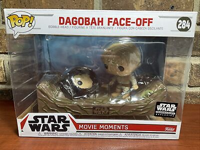 Star Wars Funko POP #284 Dagobah Face Off Movie Moments Skywalker Smugglers Bnty