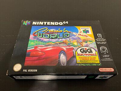 Cruis'n World Nintendo 64 GIG PAL ITA nuovo N64 Midway New 2
