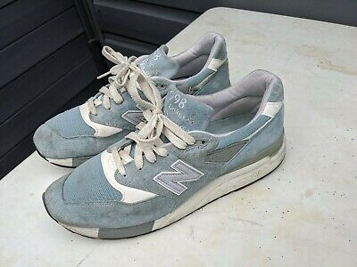 New Balance 998 Made In USA M998LL  Size 10 UK 10.5 us Blue