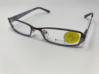 Authentic Helium Eyeglass Frame 4142 52/17-135 Purple Lilac Italy Demo Lens HQ46