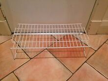 Handy Spacious White Metal Single Level Shoe Rack Coogee Eastern Suburbs Preview