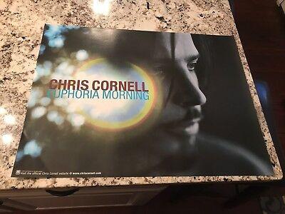 Soundgarden Chris Cornell 1999 Euphoria Morning Poster Original PROMO MINT 18x24
