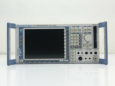 Rohde Schwarz Fsp30 Rf Spectrum Analyzer - 20 Hz To 30 Ghz B10
