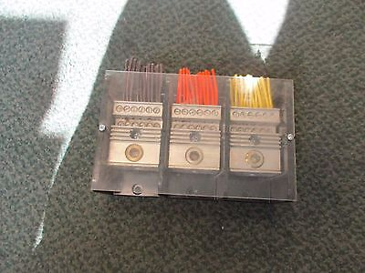 Square D Terminal Block Na Line1 4-500 Mcm 3p 380a 600v Used