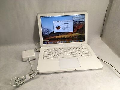 Apple Macbook UniBody A1342 Laptop / OSX High Sierra 10.13 / 250GB / Webcam
