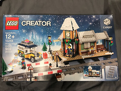 LEGO Holiday Christmas Winter Village Station 10259 New/Sealed SEE PHOTOS OBO