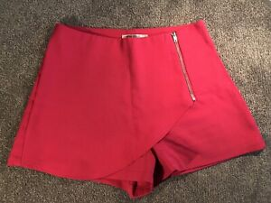 Paper Scissors High Waist Asymmetrical Shorts in Hot Pink Size 8 Narre Warren Casey Area Preview