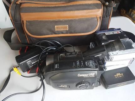 Video camera old school JVC compact