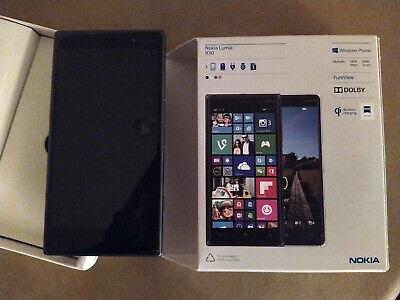 Używany, Nokia Lumia 830 - 16GB - BLACK (UNLOCKED) -    NOT A SCRATCH ON THE SCREEN na sprzedaż  Wysyłka do Poland