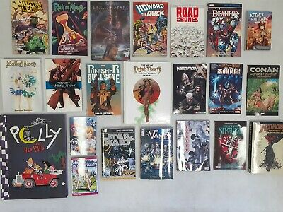 COMICS, SET OF 22, STAR WARS, EXCALIBUR, PUNISHER, CONAN, SET 122