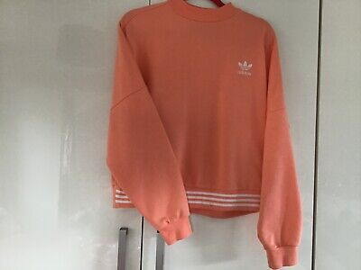 PHARRELL WILLIAMS special edition ADIDAS sweatshirt jumper UK Size 12 ORANGE
