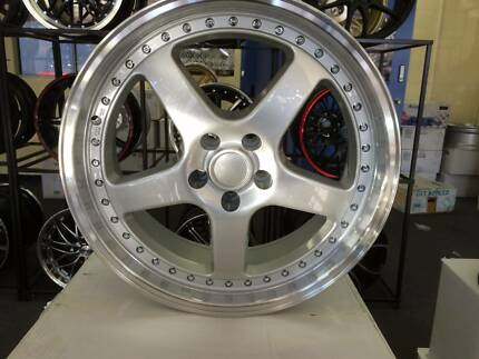 20 inch Silver with machined lip Cali wheels. Package Price. Blacktown Blacktown Area Preview