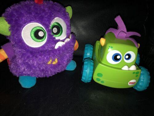 Lot Baby Toddler Toys Fisher Price Zoom Crawl Fish Bowl Giggles Melissa Doug GUC - $54.99