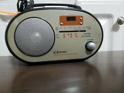 EMERSON RP1103 AM/FM/TV1/TV2 Weather Band Radio LCD Clock, Tested