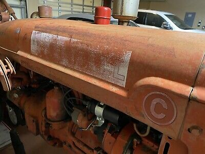 Farmall C Super A C Original Engine Hood Assembly Very Straight No Rust Nice