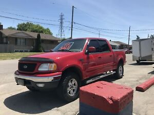 2002 Ford F-150 lariat edition