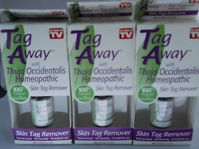 Tag Away Skin Tag Remover As Seen On Tv Product   3Pk Bundle  Exp  2022