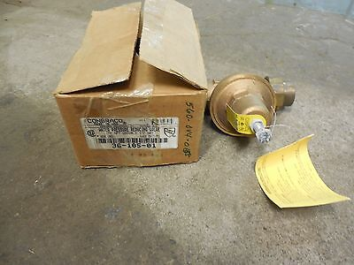 Conbraco Water Pressure Reducing Valve 36-105-01 36-105 1 Npt 25-75 Psi