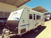 2017 New Age Manta Ray 3 Bunk Ensuite Family 20Ft Caravan MR20BC Meadowbrook Logan Area Preview
