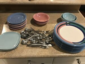 Plates, Bowls and Cutlery