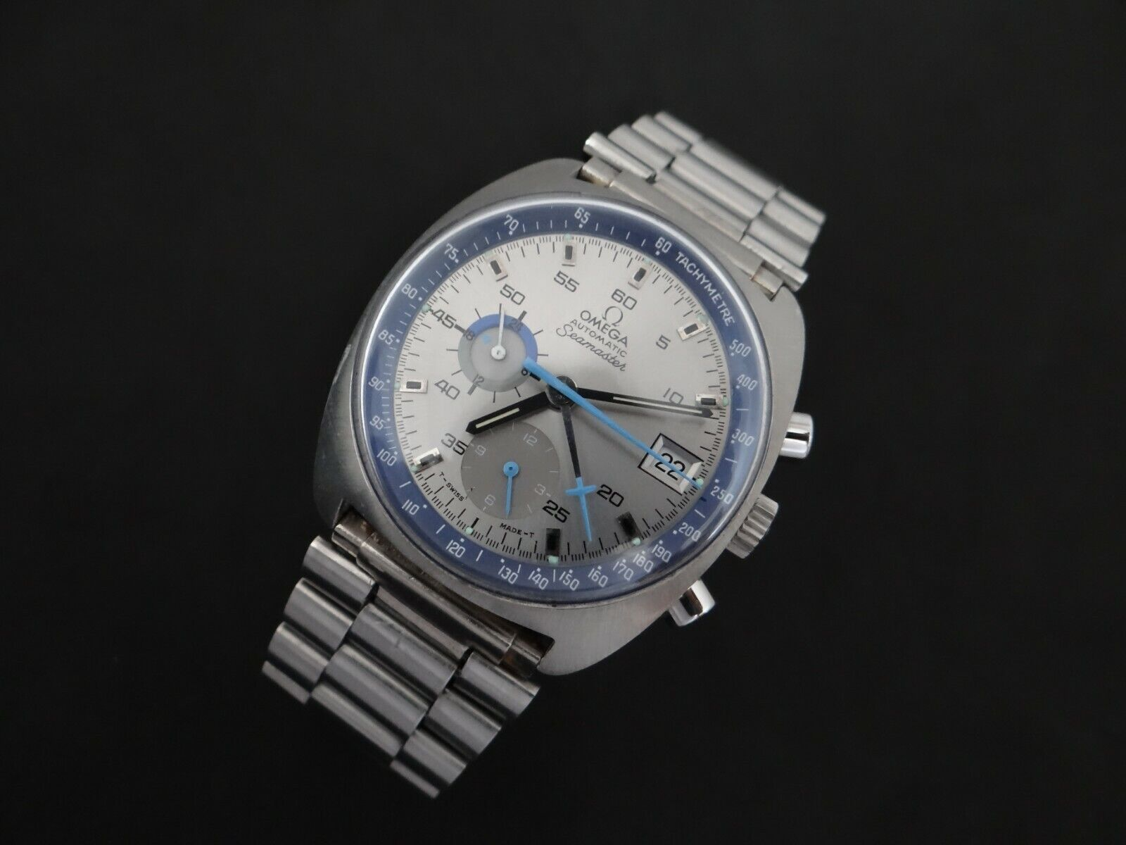 VINTAGE OMEGA SEAMASTER CHRONOGRAPH AUTOMATIC CAL 1040  REF 176.007 - watch picture 1