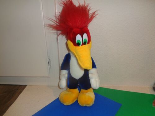 Vintage Woody Woodpecker Plush Toy Cartoon Universal Studios Crazy Hair
