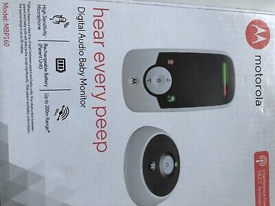 Motorola MBP160 Digital Audio Baby Monitor