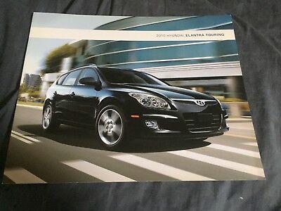 2010 Hyundai Elantra Touring Color Brochure Catalog Prospekt