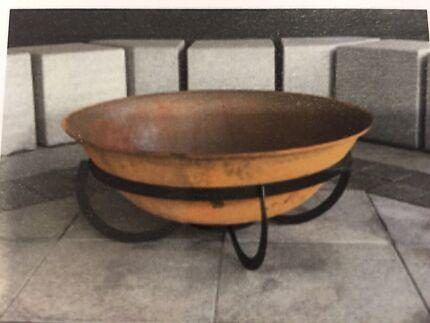 fire pit cast iron
