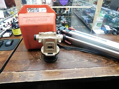 David White Lt9-300p Survey Transit Level Lt8-300p With Case And Tripod