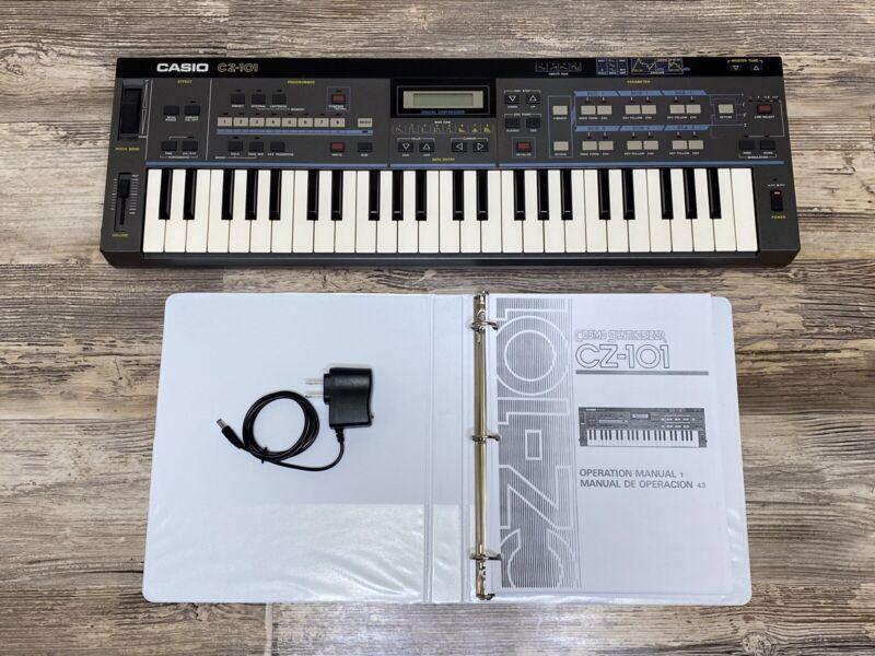 Casio CZ-101 Music Keyboard Classic Iconic Syntehsizer Programmable Mini Beast
