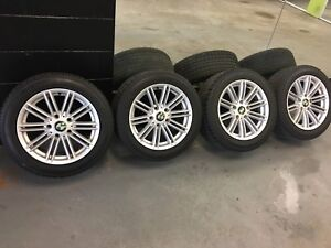 BMW Wheels with Winter Tires 205/55/R16