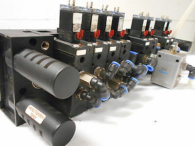 Solenoid Valves With Manifold H4-3