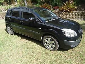 Kia Rio Black Hatchback 2008 4 cylinder manual Maroochy River Maroochydore Area Preview